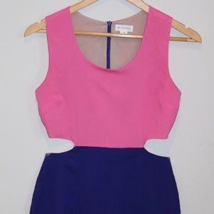 Monteau Scoop Cutout Dress (Small)